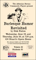 Burlesque Humor Revisited poster