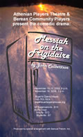 Messiah on the Frigidaire poster